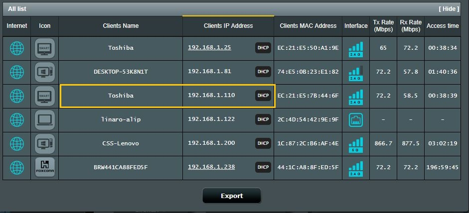 Identify Individual WiFi CAN Logger 3000 Devices via IP Address