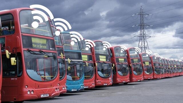 Fleet Management J1939 Optimization Bus WiFi IoT