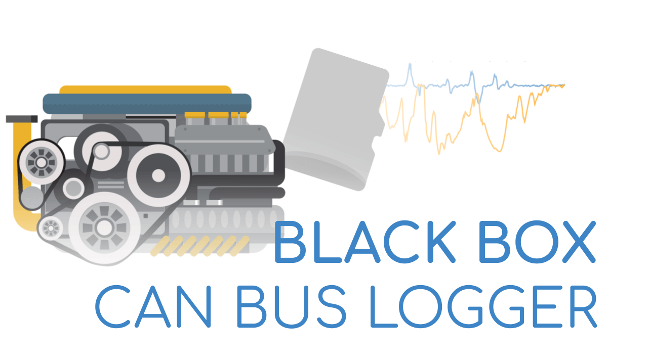 Blackbox data logger CAN bus SD card