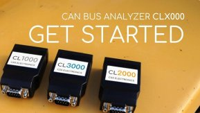 CAN BUS LOGGING - GET STARTED