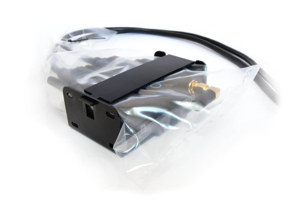 Mounting Bracket IP rating ingress protection plastic pouch