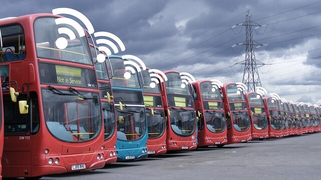 Connected Car Vehicle Bus WiFi
