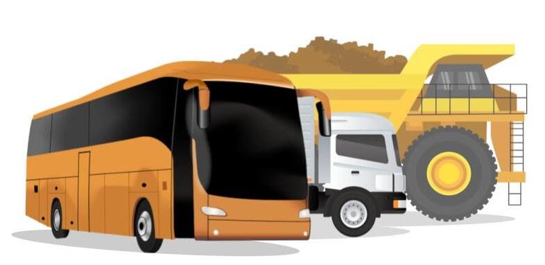 J1939 truck vehicles bus mining