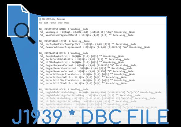 J1939 DBC Digital Annex 2018 DBC Bundle