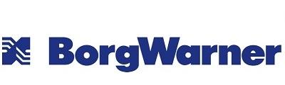 BorgWarner Logo Use Example