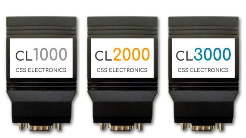 CLX000 CAN Bus Data Logger Series