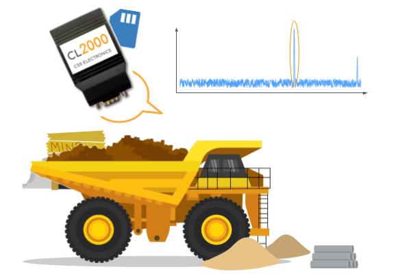 Dump Truck J1939 Data diagnostics