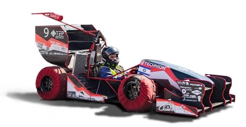 Formula Race Car Data CAN Bus