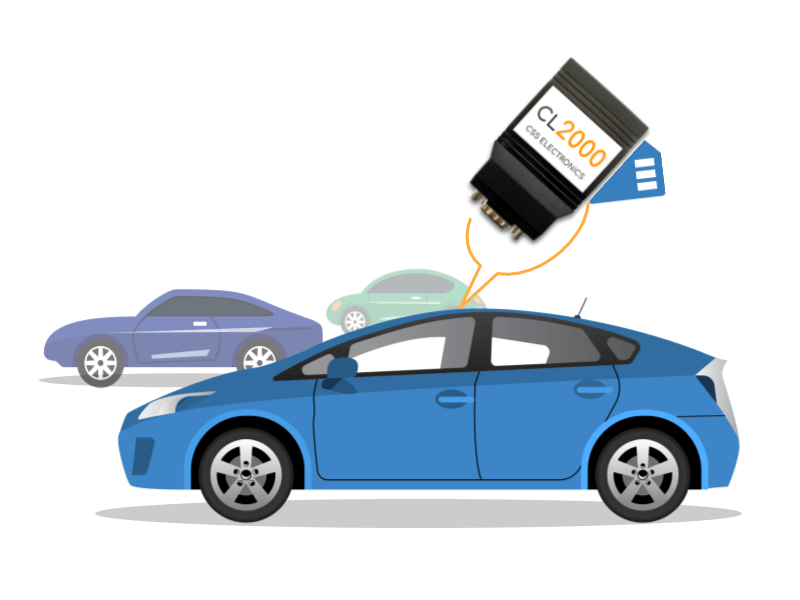 Toyota Vehicle Data CAN Logger OBD2