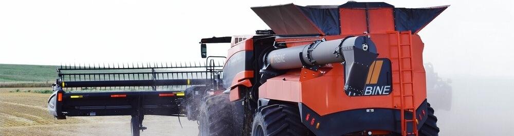 Tribine Harvester Data Field Test Farming