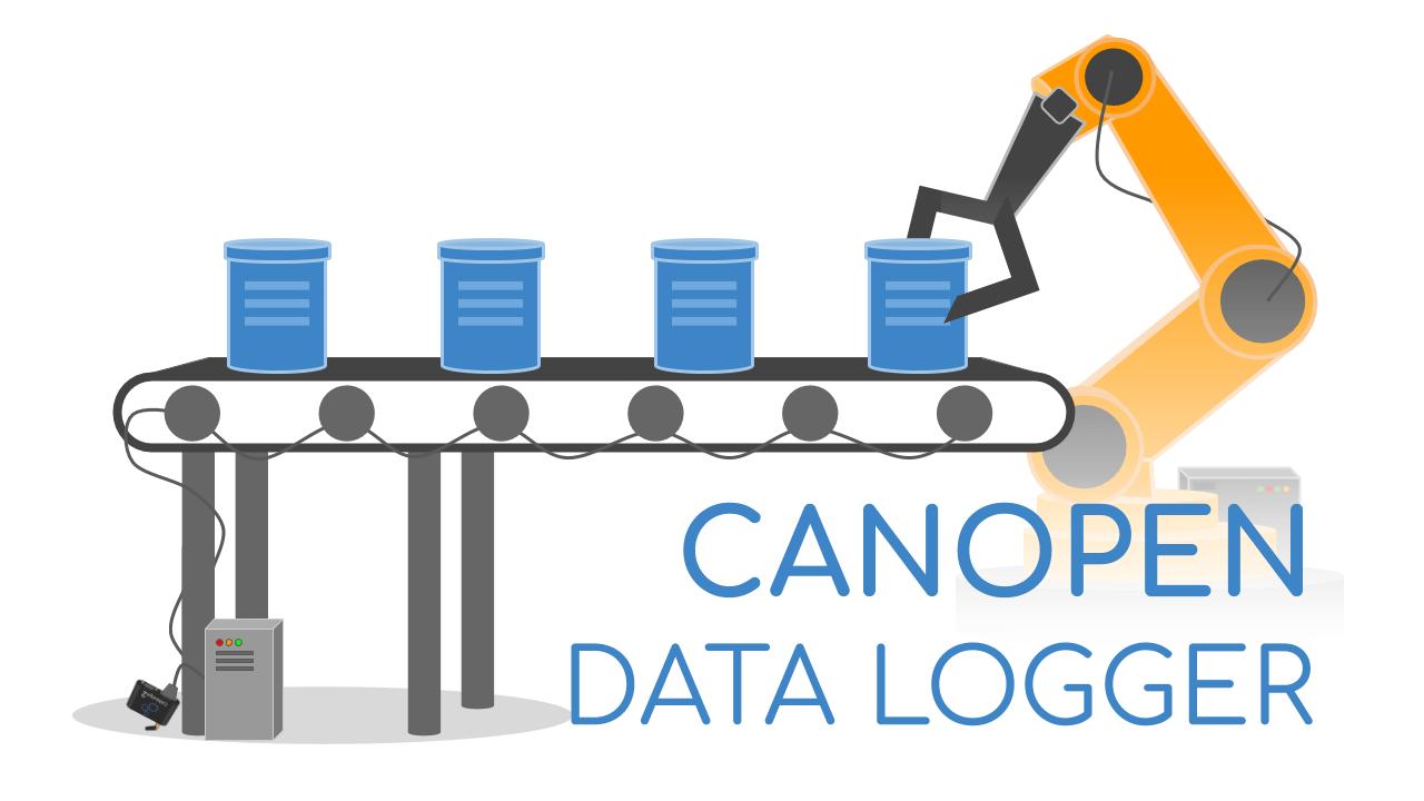 CANopen data logger intro
