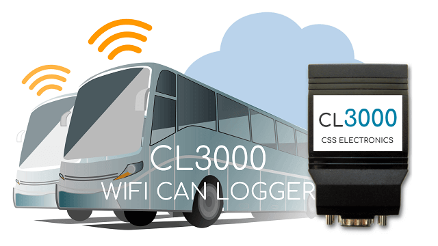THE #1 WIFI CAN BUS, OBD2 & J1939 ANALYZER: CAN LOGGER CL3000