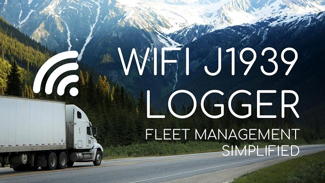 WIFI J1939 DATA LOGGER: SIMPLE TELEMATICS FOR FLEETS