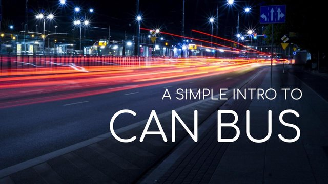 CAN Bus Explained - A Simple Intro