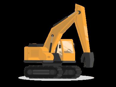 Automotive CANopen Mobile Machinery Crane Excavator