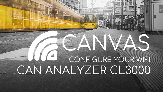 CANVAS: CONFIGURE YOUR WIRELESS CL3000