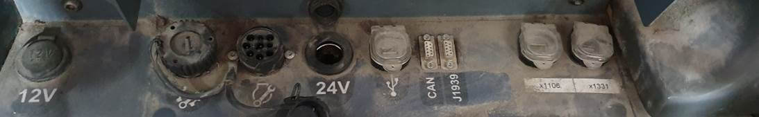 Mining Vehicle Connectors J1939 CAN